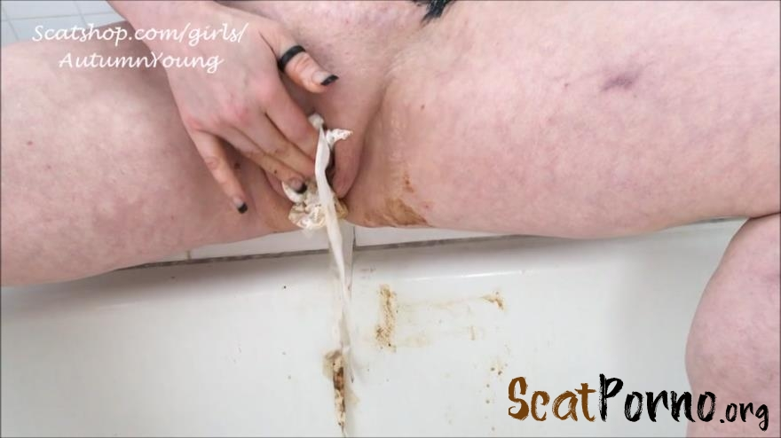 Autumn's Awesome Shit - Panty Poop Foot Fuck Dirty BJ