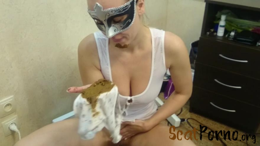 Brown wife - Dirty panties in my mouth