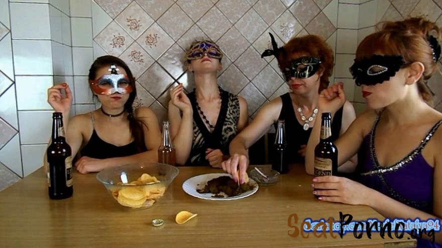 The morning Breakfast the four girls with ModelNatalya94