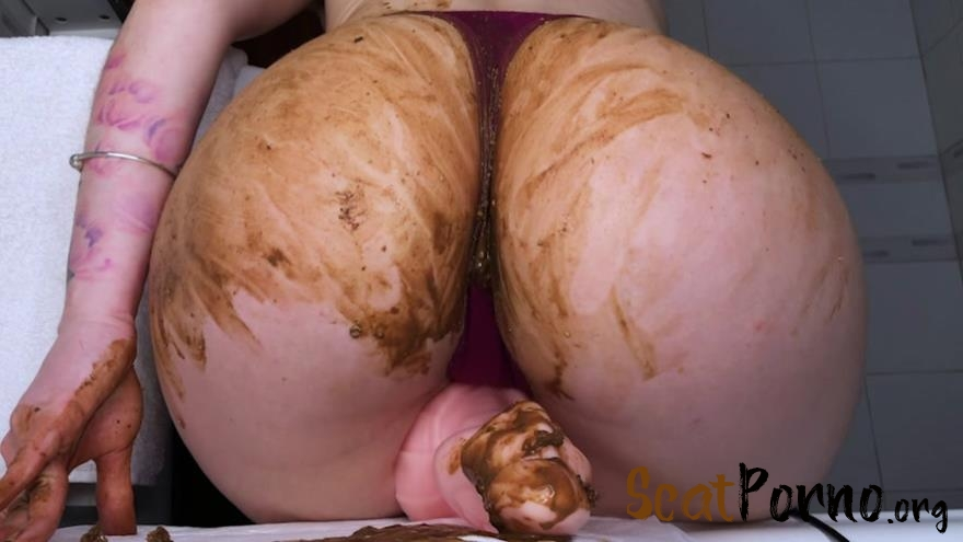 DirtyBetty - Shitty anal squirt after cum and piss