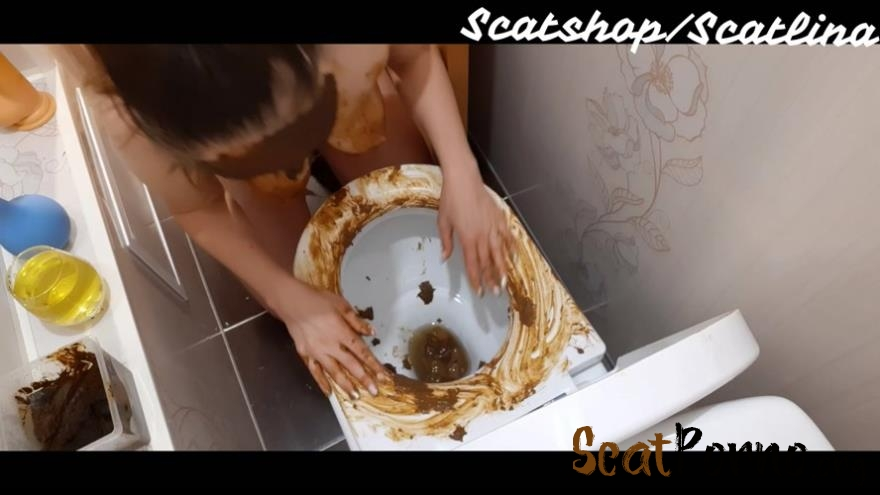 ScatLina  - Dirty toilet (part 1)
