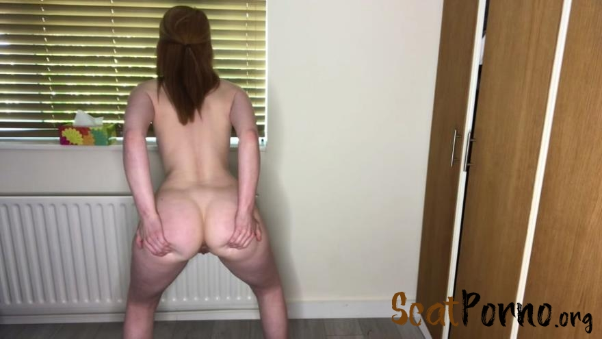 Hayley-x-x - Shitting standing up & offering you poop
