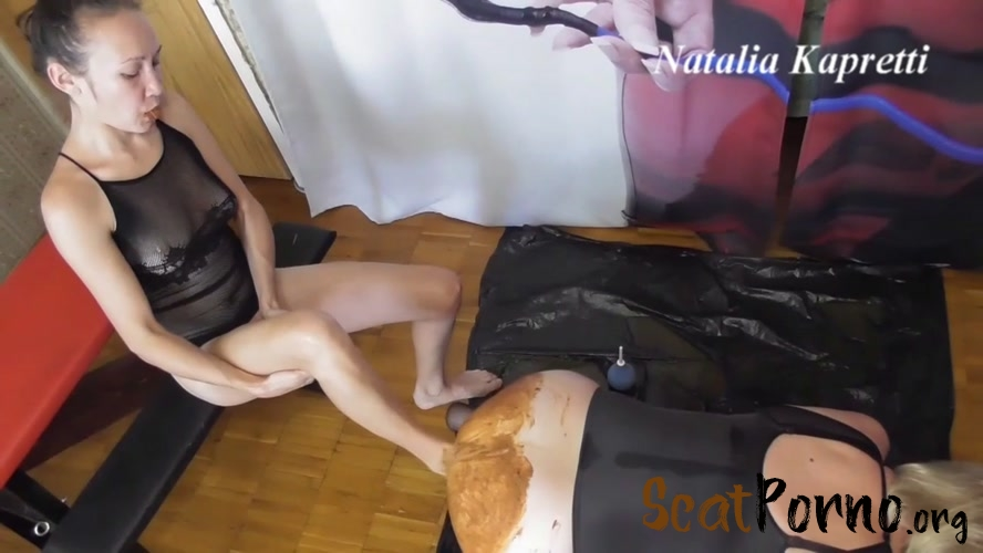 Mistress  - Eat shit, fucking him in dirty ass